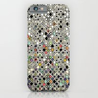 iPhone & iPod Case featuring cellular ombre by Sharon Turner