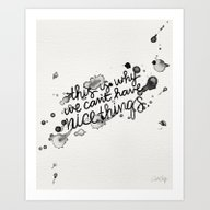This Is Why We Can't Hav… Art Print