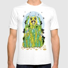 The Monster of Skate Forest Mens Fitted Tee White SMALL
