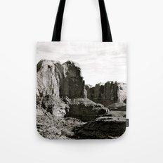Amasa Back b/w Tote Bag
