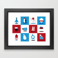 Creatures Framed Art Print