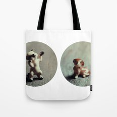 Cats & Dogs Tote Bag