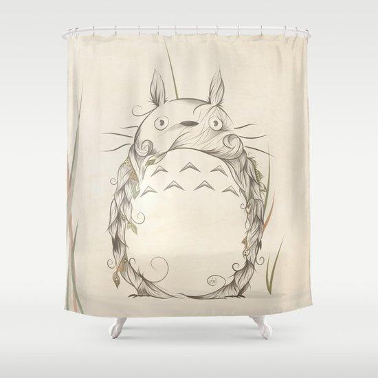 Poetic Creature Shower Curtain