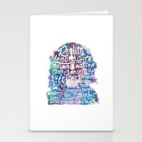 Lennon Reality Stationery Cards