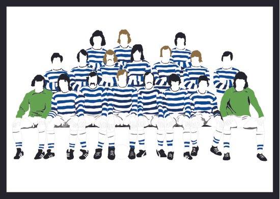 Robin Friday - The Greatest Footballer You Never Saw Art Print