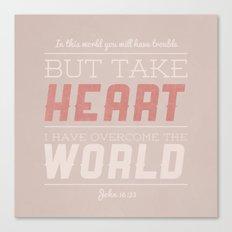 John 16:33 Canvas Print