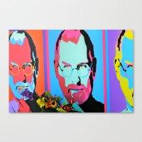 Steve Jobs Memorial in Santa Monica, CA Canvas Print
