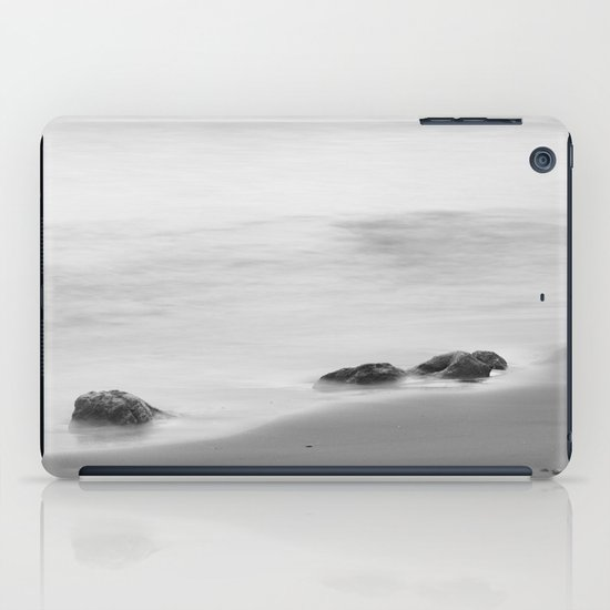 Three sunset rocks iPad Case
