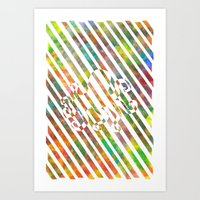 nebula 2 Art Print