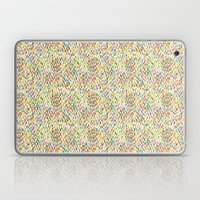 Brush stroke warm summer Laptop & iPad Skin