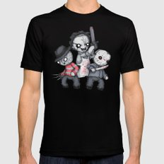 Horror Trifecta Plushie  SMALL Mens Fitted Tee Black