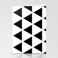 Sleyer Black On White Pa… Stationery Cards