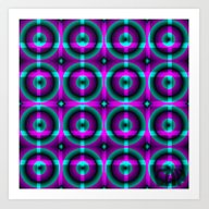 Spinster #11 Colorful Op… Art Print