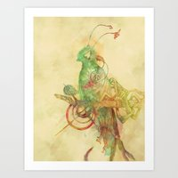 Quetzall II Art Print