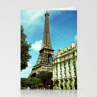 Sunny Day in Paris Stationery Cards