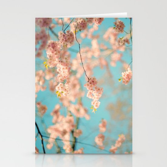 Dance of the Cherry Blossom Stationery Card