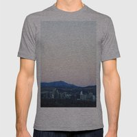 Reno Mens Fitted Tee Athletic Grey SMALL
