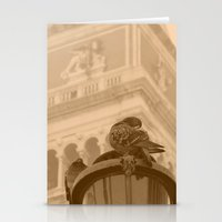 Venetian birds Stationery Cards