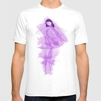 Psylocke Mens Fitted Tee White SMALL