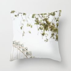 the wheel2 Throw Pillow