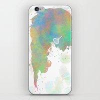 Pastel Silhouette iPhone & iPod Skin