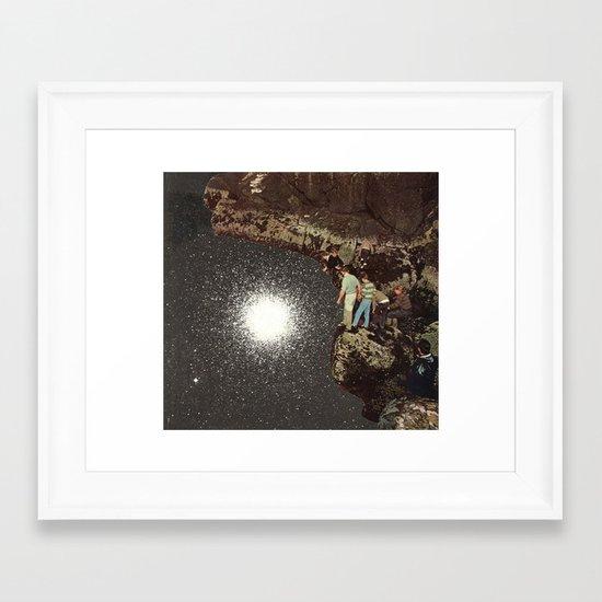 star pool Framed Art Print
