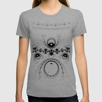 IDIC Womens Fitted Tee Tri-Grey SMALL