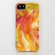 Autumn Leaves iPhone (5, 5s) Slim Case