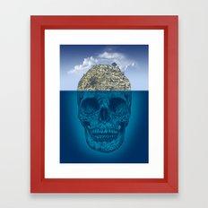 Skull Island Framed Art Print