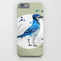 iPhone & iPod Case featuring Blue Jay by Condor