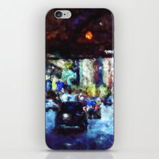Traffic In The City iPhone & iPod Skin