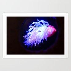 Electricity. Art Print