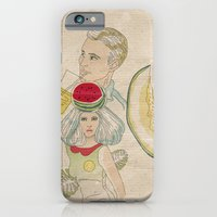 iPhone & iPod Case featuring melon, watermelon and lemon by TOXIC RETRO