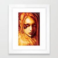 Kabuki Framed Art Print