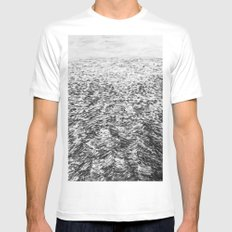 LA MER ENCORE SMALL White Mens Fitted Tee