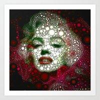 Marilin Circles Art Print