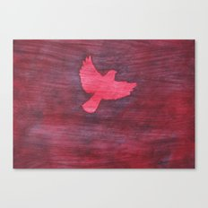 Red Flight Canvas Print