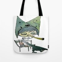 the rabbit's song Tote Bag