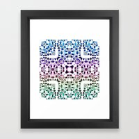 Watercolor Realm Framed Art Print