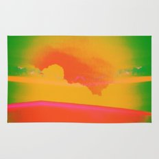 Signs in the Sky Collection - Rising Sun Rug