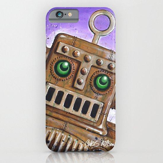 i.Friend: Steam Punk Robot iPhone & iPod Case