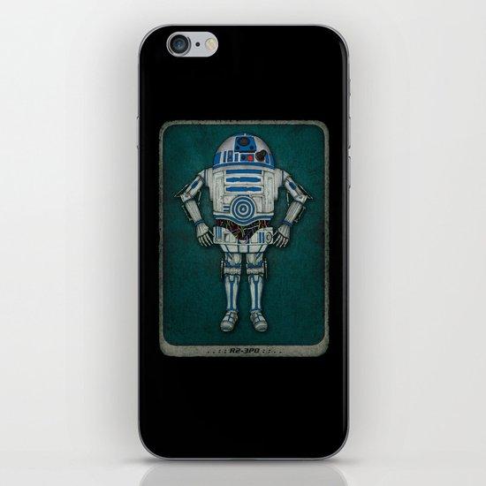 R2 3PO iPhone & iPod Skin