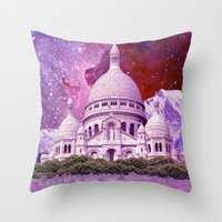 Hipsterland - Paris Throw Pillow