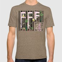 Four Freedoms Barcode Bl… Mens Fitted Tee Tri-Coffee SMALL