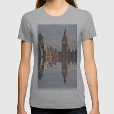 London Womens Fitted Tee Athletic Grey SMALL
