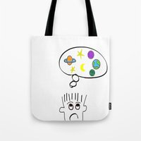 Space Dreaming Tote Bag
