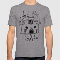 hausu Mens Fitted Tee Athletic Grey SMALL