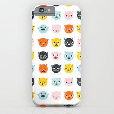 Moody cats  iPhone 6 Slim Case