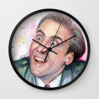 Nicolas Cage You Don't Say Wall Clock