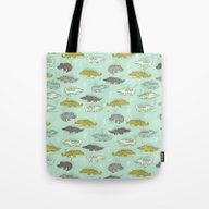 Cute Crocodiles Tote Bag